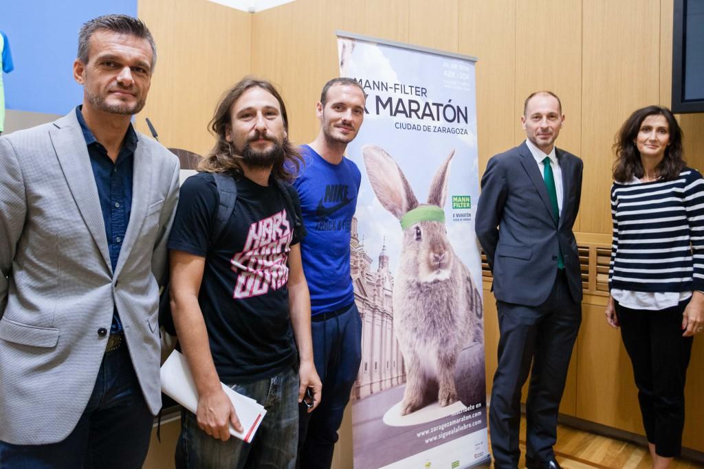 Décimo cumpleaños de la Maratón Ciudad de Zaragoza