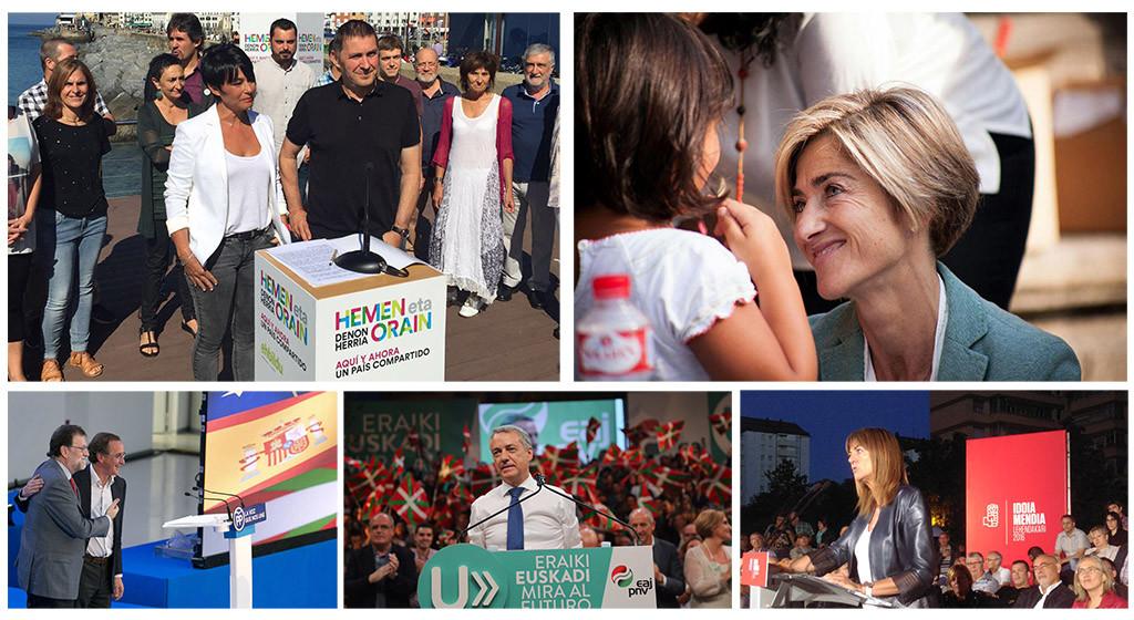 Las elecciones vascas marcadas por el veto a Otegi y las inercias de afrenta de un PP anclado en el pasado