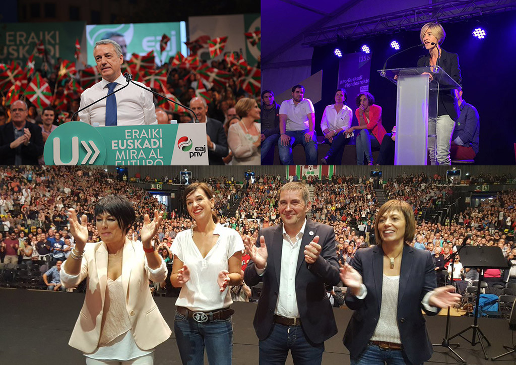 Parlamento plural y soberanista tras las elecciones vascas
