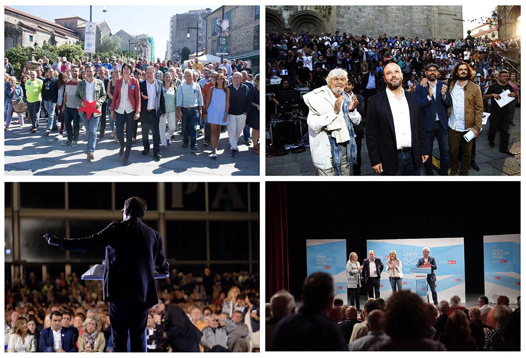 Elecciones galegas: La corrupción y los recortes de Feijoo contra la renovación de las fuerzas de izquierda