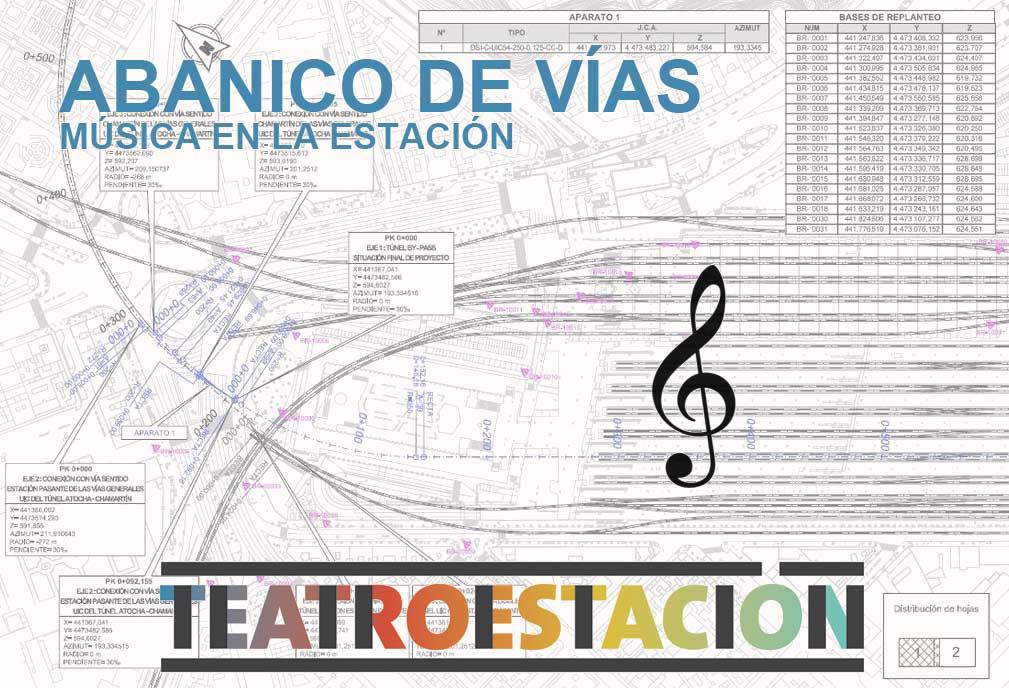 El Teatro de la Estación convoca la segunda edición del premio de composición musical Abanico de Vías