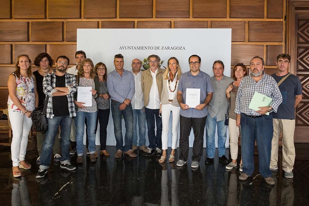 Una amplia mayoría de las secciones sindicales del Ayuntamiento de Zaragoza firman el preacuerdo del Pacto Convenio