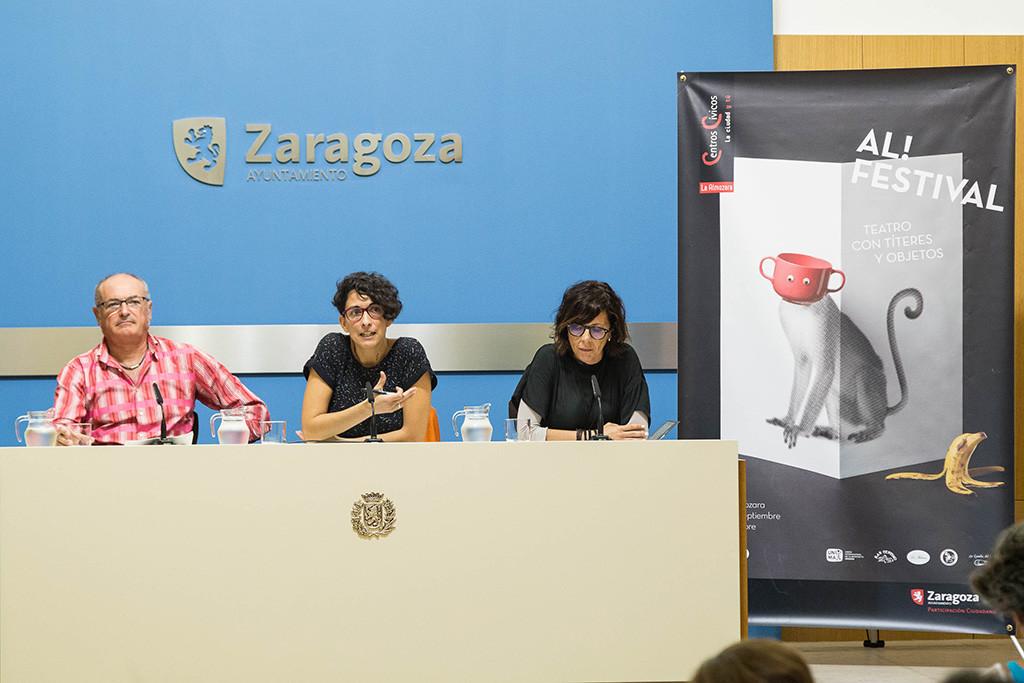 El CC L'Almozara abre sus puertas al mundo mágico de los títeres y los objetos con la séptima edición de Al! Festival