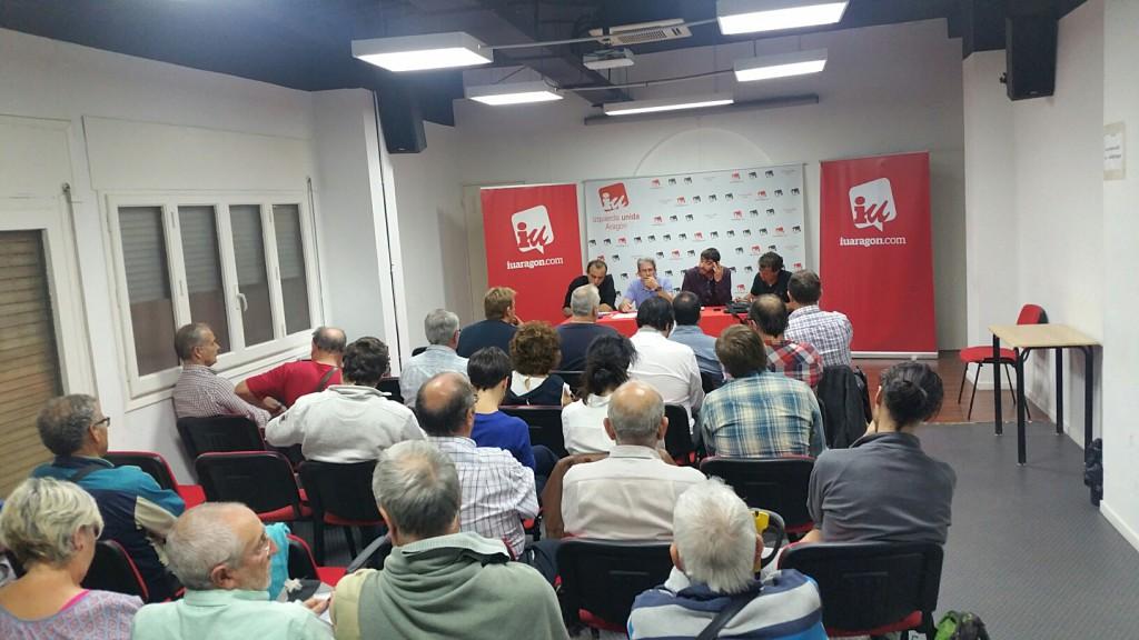 IU Aragón inicia el proceso de su XII Asamblea