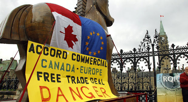 IU se suma a la lucha contra la aplicación del CETA con una iniciativa en las Cortes de Aragón