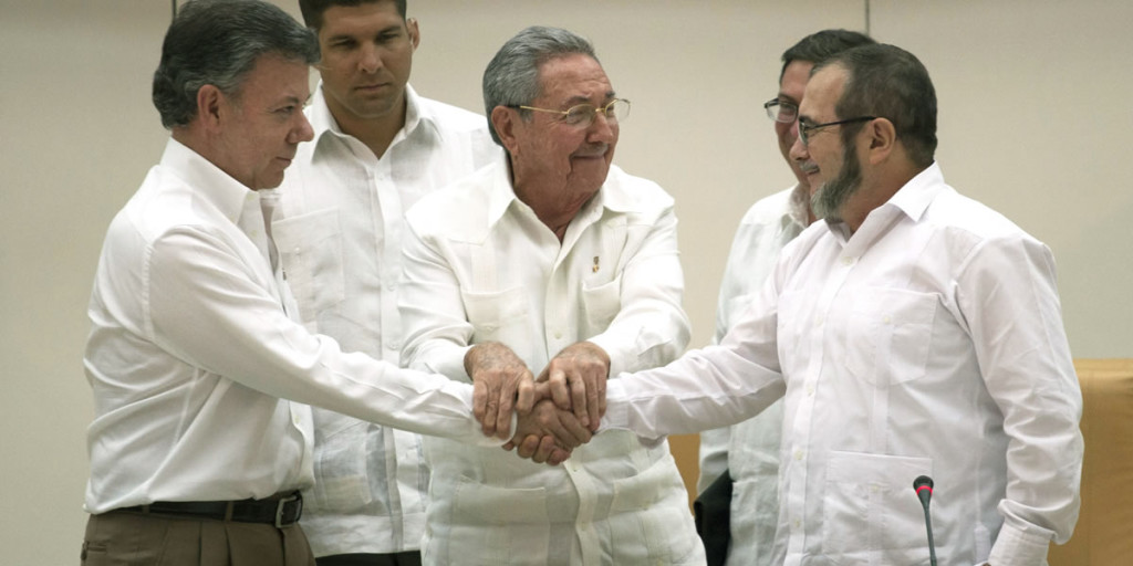 El acuerdo de paz entre el Gobierno de Colombia y las FARC se firmará el 26 de septiembre en Cartagena de Indias