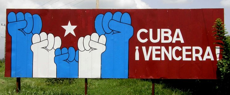 Foto: Cuba en vallas