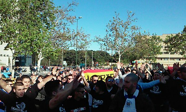 Más agresiones fascistas en Zaragoza, una de ellas con pistola táser