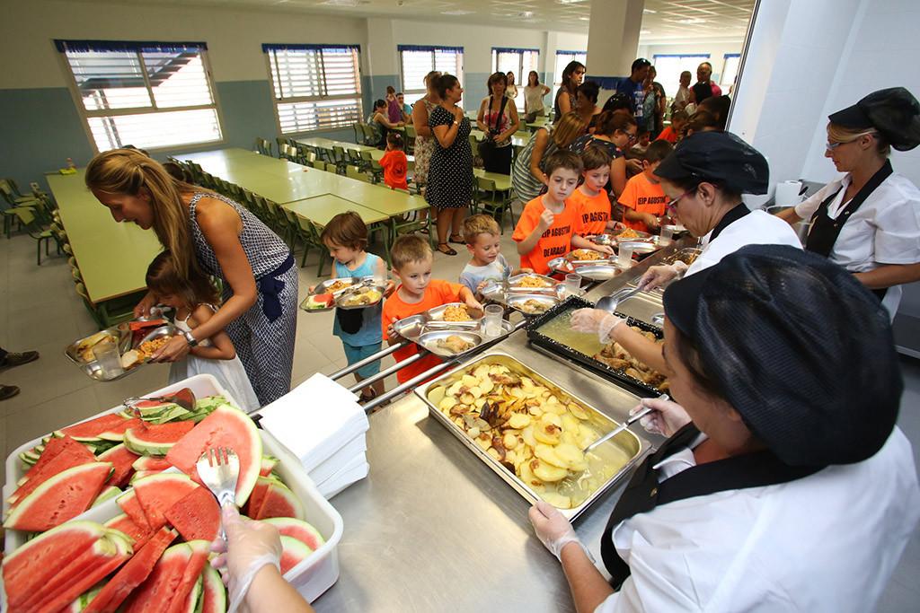 Inauguran un comedor autogestionado en el CEIP Agustina de Aragón del Actur