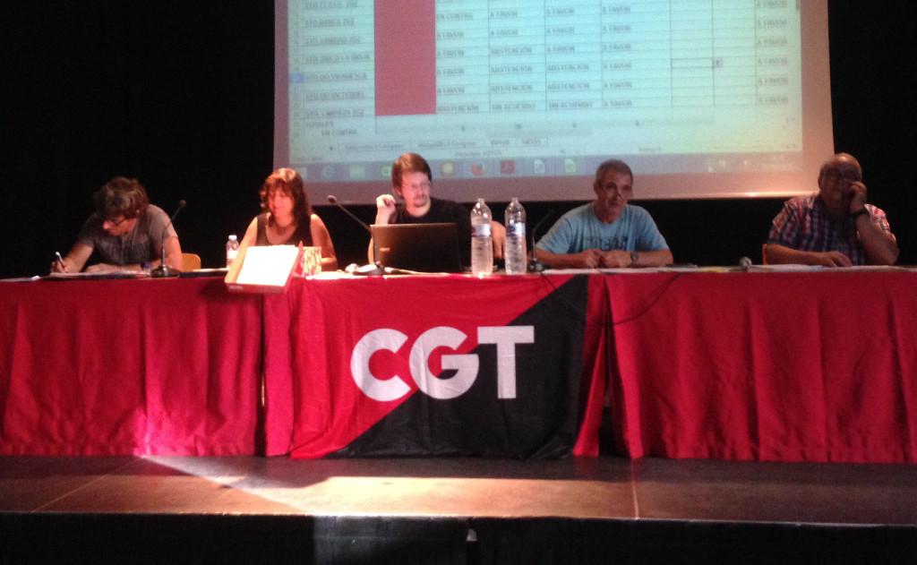 CGT Aragón celebra su Congreso donde elige a su nuevo secretariado permanente