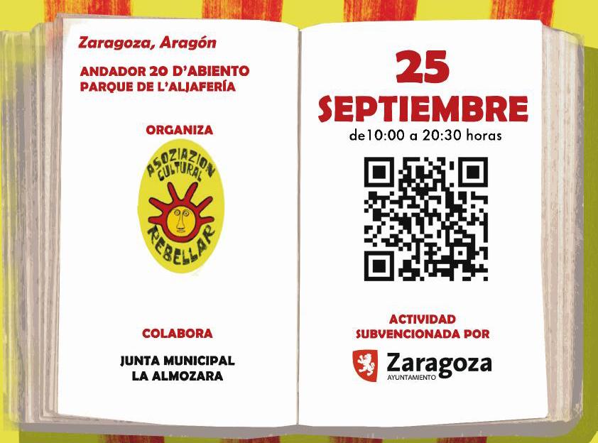 L'Almozara acoge la V Feria del Libro Aragonés