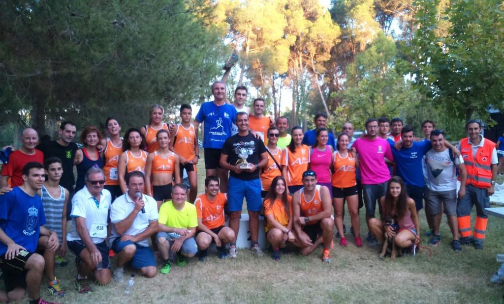 Gerard Longán y Noemí García ganan la II Carrera Pedestre de Ontinyena
