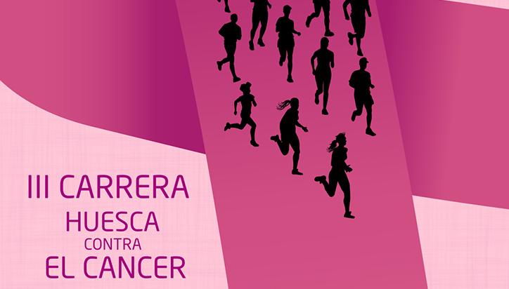 Uesca celebrará el 16 de octubre la III Carrera contra el cáncer