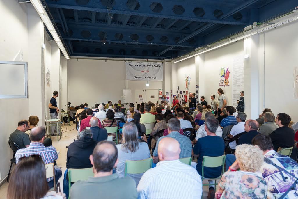 Rotundo éxito de las 'Jornadas por la Remunicipalización de los Servicios Públicos' en Zaragoza