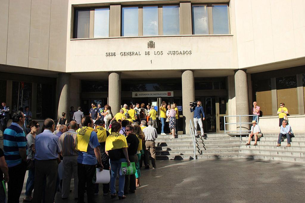 El mayor juicio de preferentes del Estado, de ADICAE frente a Bankia, podría quedar visto para sentencia este lunes