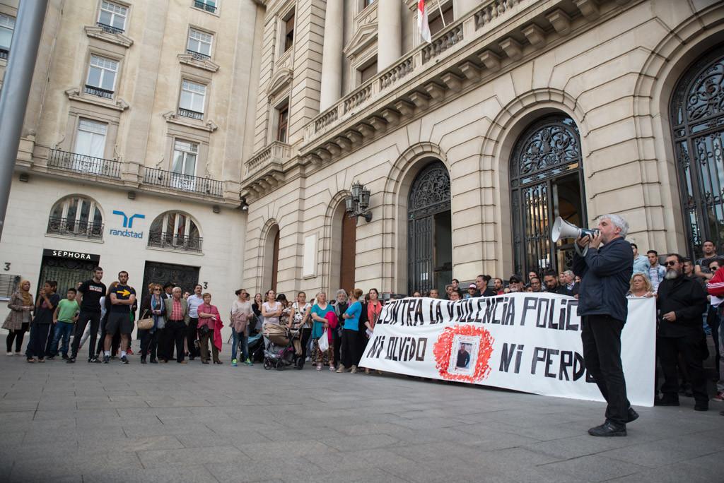 Continúan las movilizaciones reclamando justicia para el fallecido en los calabozos de Ranillas en abril