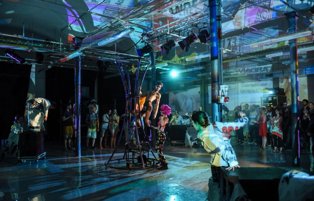 """La Fura dels Baus continúa en Etopia con su proyecto europeo """"Eu Collective Plays"""""""