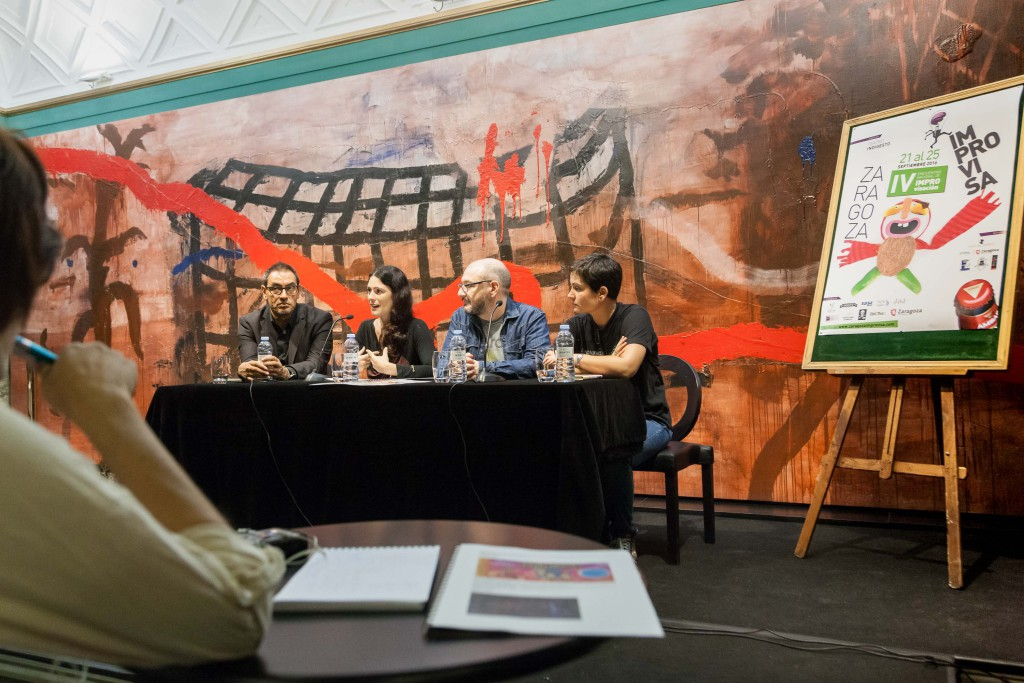 El Teatro del Mercado acoge 'Zaragoza Improvisa', el IV encuentro estatal de improvisación