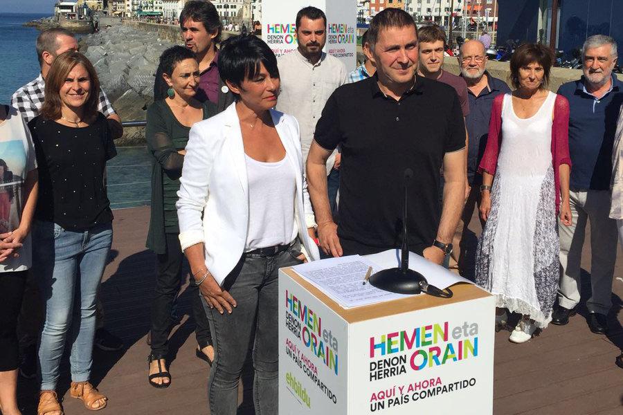 El Constitucional no admite el recurso de Otegi y le impide presentarse como candidato de EH Bildu