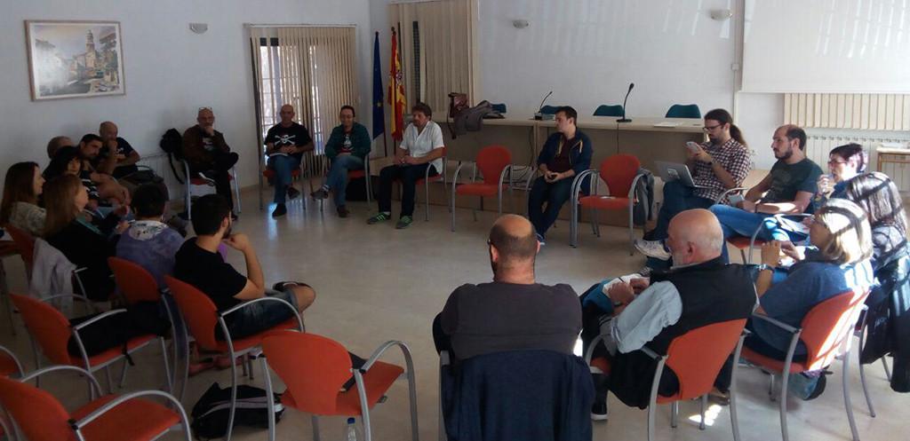 """Podemos reúne en Utrillas a representantes de los Círculos turolenses para """"debatir y coordinar políticas municipales y provinciales"""""""