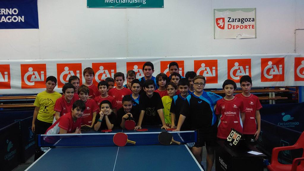Arranca la pretemporada para los clubes aragoneses de tenis de mesa