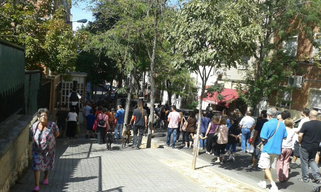 Pasacalles Torrero Se Defiende 10092016 Foto @arainfonoticias (10)