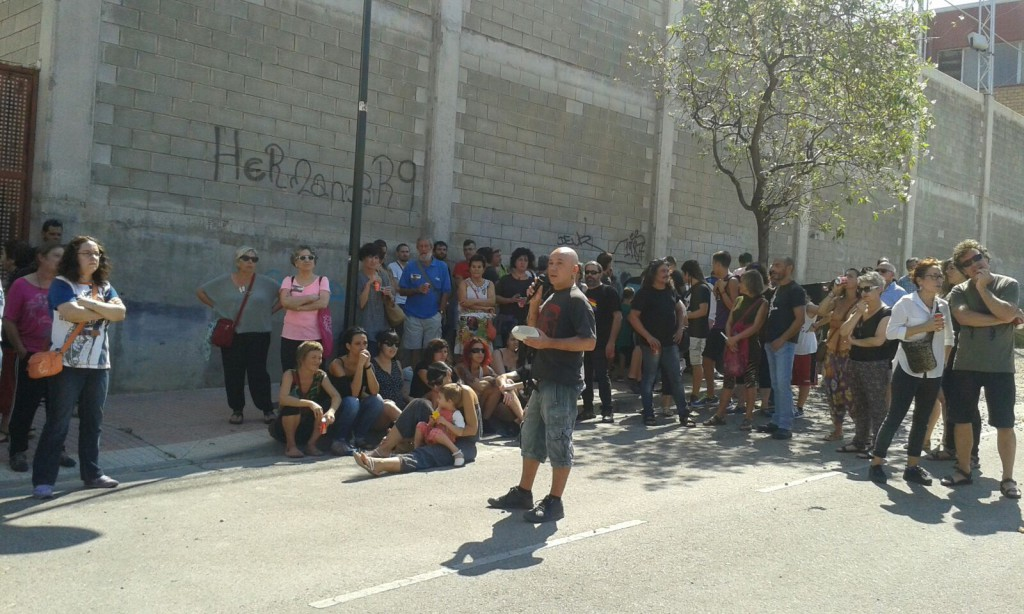 Pasacalles Torrero Se Defiende 10092016 Foto @arainfonoticias (23)