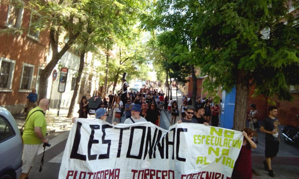 Pasacalles Torrero Se Defiende 10092016 Foto KS (15) r