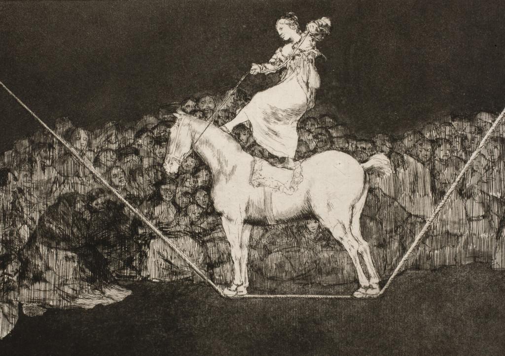 La Fundación CAI pone a la venta cuatro series de grabados de Goya de un valor universal e incalculable