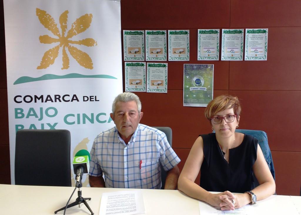 Baix Cinca lanza la campaña «el consumo t-consume»