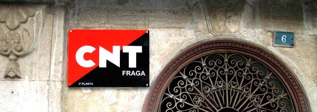 Fraga acoge la 1ª Conferencia de Militantes Intercomarcal de la CNT del Baix Cinca y Segriá