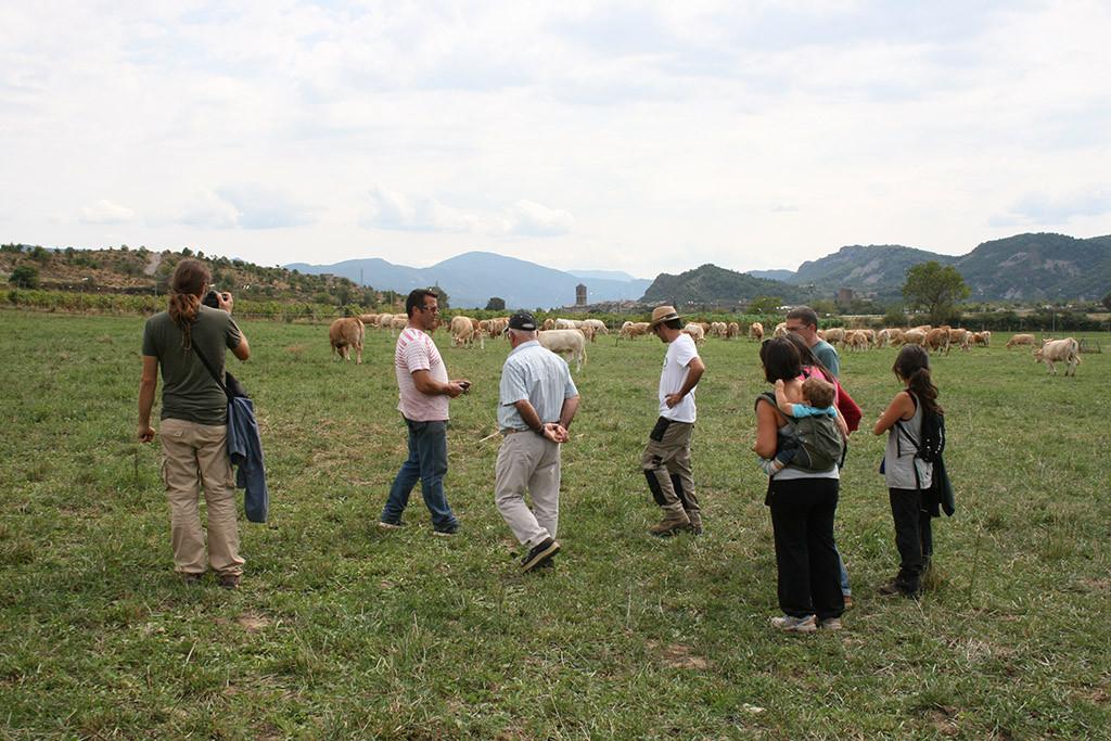 Agricultores y cocineros trabajan juntos en el Sobrarbe para una alimentación ecológica y local