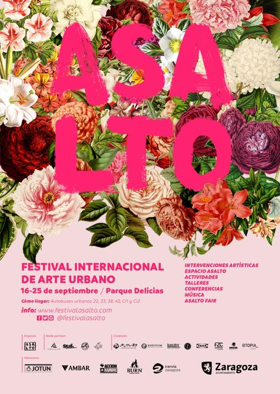 Cartel Festival Asalto