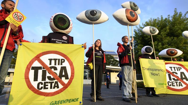 Greenpeace Holanda publica una nueva filtración sobre el TISA y analiza el anexo sobre energía