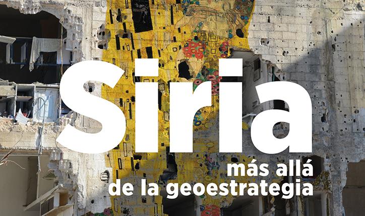 """""""Siria más allá de la geoestrategia"""", charla con Leila Nachawati"""