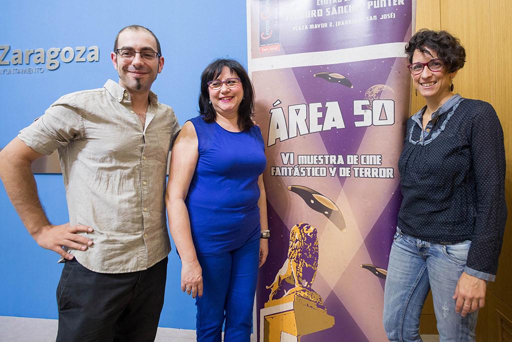 """La VI Muestra de Cine Fantástico y de Terror """"Área 50"""", este fin de semana en Zaragoza"""