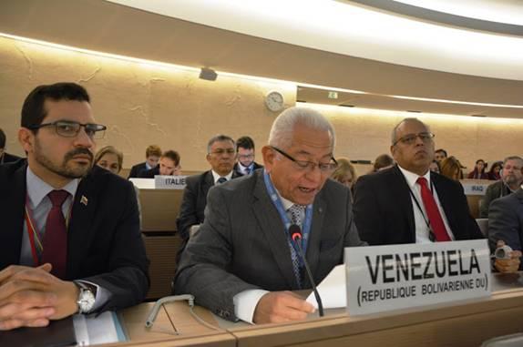 88 países rechazan la declaración injerencista de EEUU contra Venezuela en consejo de DDHH de la ONU