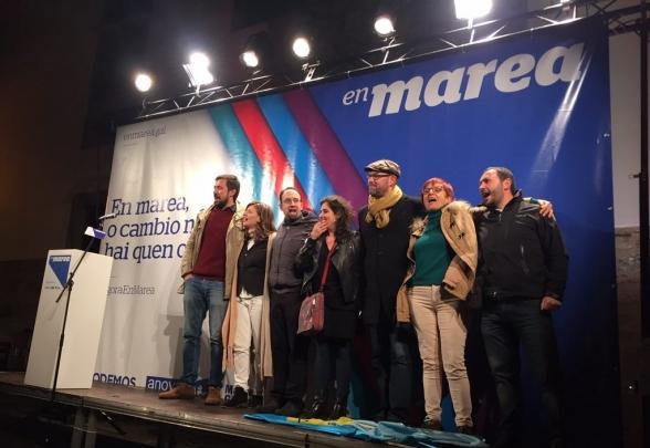 El PP vuelve a conseguir la mayoría absoluta en Galiza y En Marea se coloca como segunda fuerza