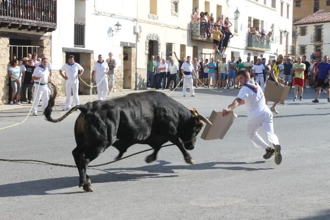 Recogen firmas pidiendo un referéndum sobre la prohibición de festejos taurinos en Teruel