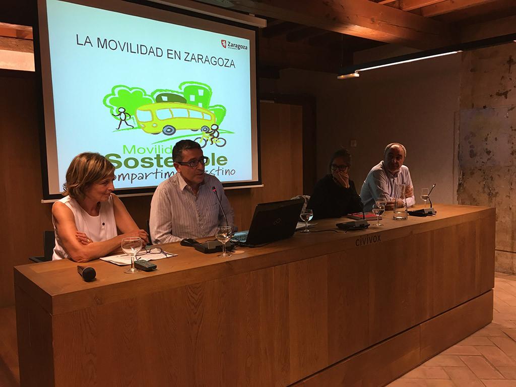 Zaragoza comparte en Iruñea su experiencia en movilidad y reducción de emisiones a la atmósfera