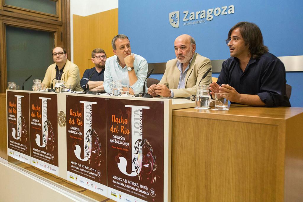 La Jota se viste de gala con Nacho del Río y la Orquesta Sinfónica Goya
