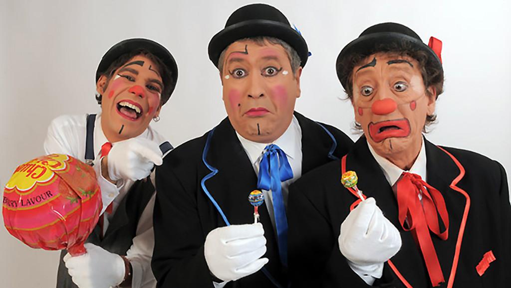"""Los payasos Kini, Serrucho y Jano regresan al Teatro Arbolé con un espectáculo para """"Abuelos y nietos"""""""