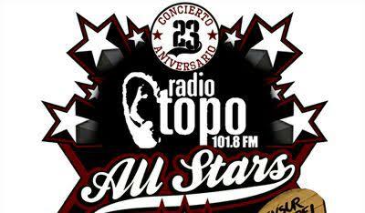 Todo preparado para la celebración del 23º aniversario de Radio Topo