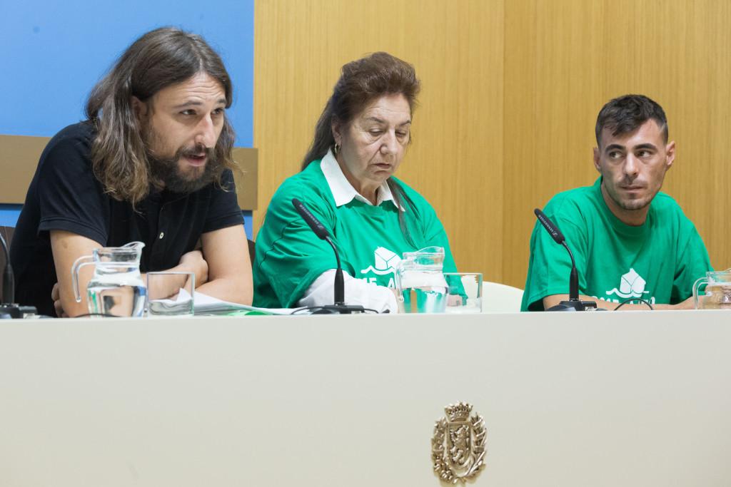 Híjar solicita a la Sareb la suspensión del desalojo de diez familias en Santa Isabel