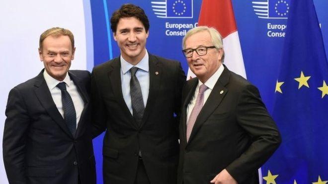 La Unión Europea y Canadá rubrican el CETA