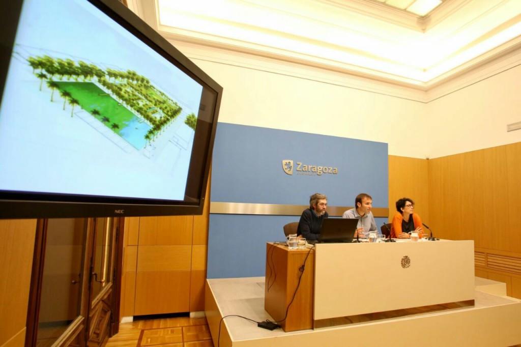 El Centro Cívico Universidad acoge la presentación pública del informe de los Depósitos de Pignatelli