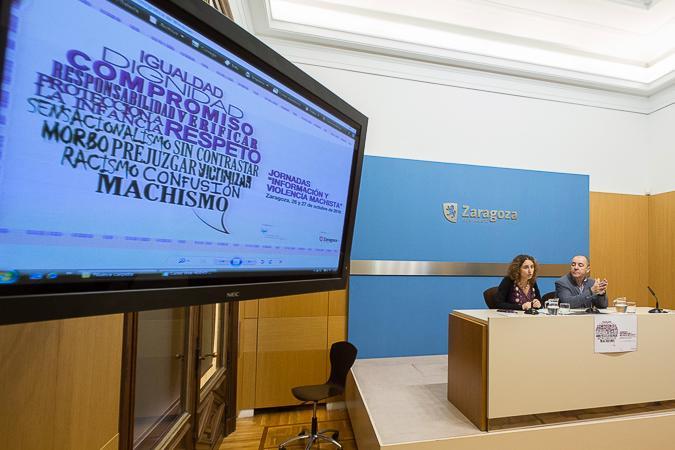 El Ayuntamiento de Zaragoza y la APA promueven un protocolo sobre el tratamiento informativo de la violencia machista