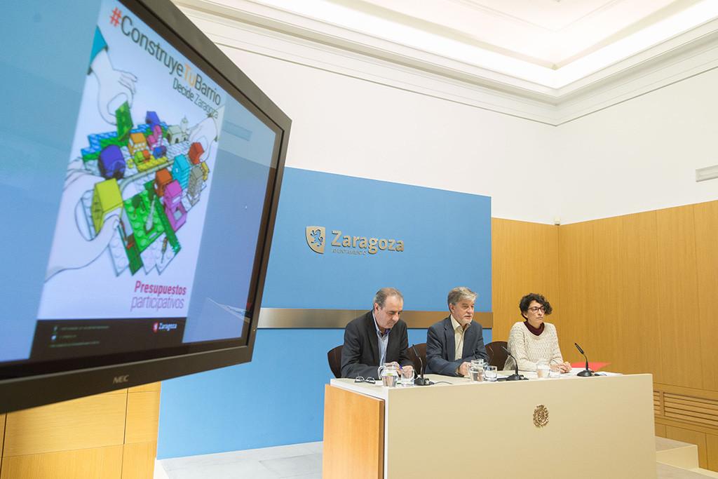 Presentación de los presupuestos. Foto: Daniel Marcos (AZ)