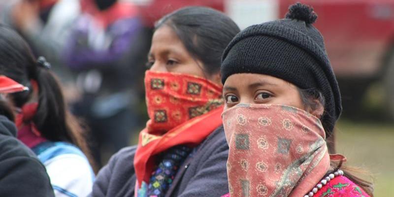 20 aniversario del Congreso Nacional Indigena, celebrado en el Caracol de Oventic el 12 de octubre de 2016. Foto: Radiozatapatista.org