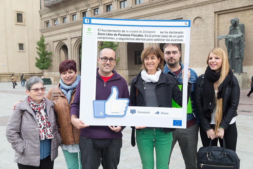 Zaragoza se declara 'Zona Libre de Paraísos Fiscales'